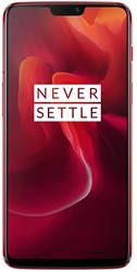 Picture of OnePlus 6 Dual Sim - 128GB, 8GB RAM, 4G LTE, Amber Red